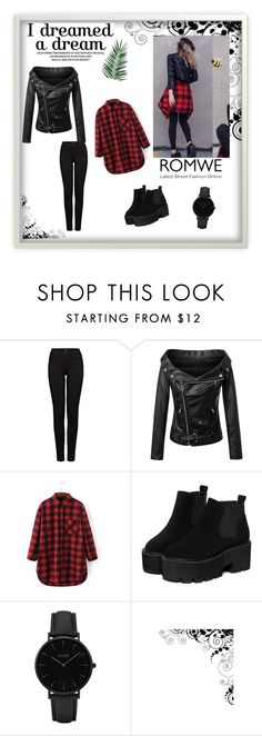 """""""Romwe 42"""" by zerina913 ❤ liked on Polyvore featuring J Brand, CLUSE, Nika and romwe"""