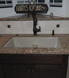 Kholer Vinnata Faucet In Oil Rubbed Bronze With Kohler Deefield Smart  Divide Sink In Sandbar In