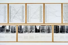 """Hans Haacke  """"Shapolsky et al. Manhattan Real Estate Holdings, a Real-Time Social System, as of May 1st, 1971"""" (fragment), 1971"""