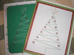 hand sewing patterns for cards - Google Search