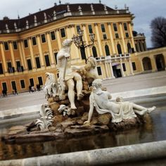 """See 5968 photos and 649 tips from 53259 visitors to Schloss Schönbrunn. """"it is huge. Week End, Four Square, Palace, Lion Sculpture, Statue, Travel, Classical Music, Vienna, Trips"""
