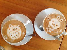Cafe latte at Cafe Picnic