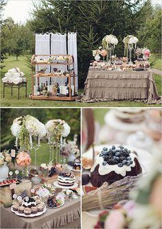 outdoor dessert table ideas