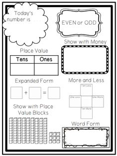 Second Grade Math, First Grade Classroom, Math Classroom, Kindergarten Math, Teaching Math, Maths, Grade 1, Preschool, Classroom Ideas