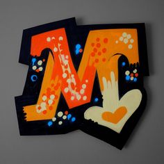 Hand painted, one-of-a-kind designs. Take graffiti off the walls and hang it onto yours.