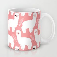 Buy The Alpacas II by Littleoddforest as a high quality Mug. Worldwide shipping available at Society6.com. Just one of millions of products available.