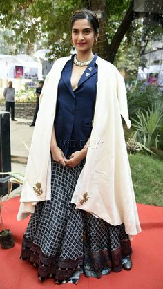 Sonam Kapoor at the inauguration of FICI FLO Film Festival.