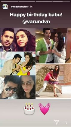 Omg Varshra  L@dy_De@th Just Love, True Love, Shraddha Kapoor Cute, Sraddha Kapoor, Varun Dhawan, Tv Actors, Bollywood Actors, Best Couple, Indian Designer Wear