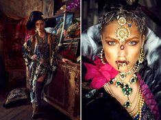 Bohemian Gypsy Editorials : Bizuu Fall/Winter 2013