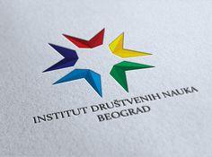 INSTITUTE OF SOCIAL SCIENCE BELGRADE new identity by Predrag Rmus, via Behance