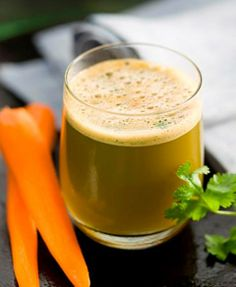 The Arteries and Heart Support Juice.  Scientist found alfalfa in combination with carrots to be particularly helpful in most troubles with the arteries and dysfunction connected with the heart. This juice is a must-try for all those who have cardiovascular conditions..  Ingredients: 3 #carrots, 1/2 #apple, 2 cups #alfalfa sprouts, handful of #parsley, handful of #coriander, 1/2 in. #ginger root, 1/2 #lemon.