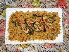 Cuisine of Karachi: Fish Pulao / Mahi Pulao/Muhi Pulao مچھلی کا پلاؤ / ماھی پلاؤ