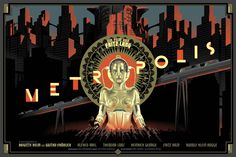 metropolis is one of the many cool films upcoming at the Redford Theatre in Detroit