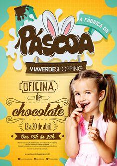 Páscoa Via Verde Shopping on Behance