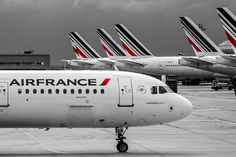 Air France all over the place!