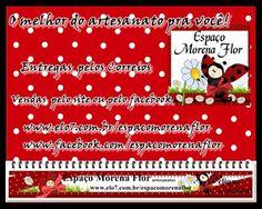www.elo7.com.br/espacomorenaflor  www.facebook.com/espacomorenaflor