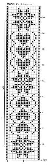 Cross stitch chart for a bookmark Cross Stitch Bookmarks, Crochet Bookmarks, Cross Stitch Borders, Cross Stitch Designs, Cross Stitch Embroidery, Cross Stitch Patterns, Filet Crochet Charts, Crochet Diagram, Crochet Doilies