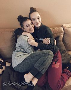 Added by #hahah0ll13 Dance Moms Kalani Hiliker and Maddie Ziegler