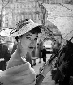 Lena Madsen, photo by Regina Relang, 1954