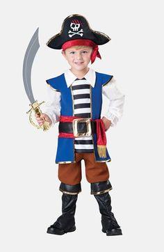 Toddler Boyu0027s InCharacter Costumes Pirate Boy Jumpsuit ...  sc 1 st  Pinterest & DIY Handmade kids Robin Hood and Friar Tuck Halloween costumes ...