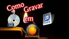 Como Gravar CD em MP3 pelo BurnaWare
