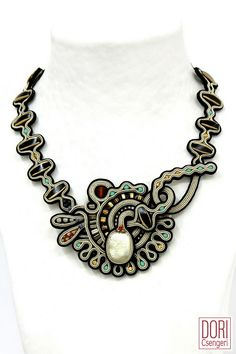 Amazing Soutache Jewelry by Dori Csengeri ~ The Beading Gem's Journal