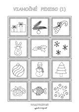 Pexeso so zvieratkami - Nasedeticky. Diy And Crafts, Bullet Journal, Quilts, Christmas, Xmas, Quilt Sets, Navidad, Noel, Log Cabin Quilts