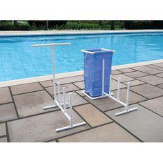 Pool floats organizer