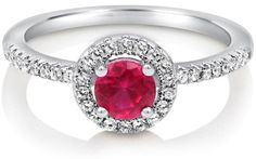 #Berricle                 #ring                     #Round #Ruby #Cubic #Zirconia #Sterling #Silver #Halo #Ring #0.63 ##r570      Round Ruby Cubic Zirconia CZ 925 Sterling Silver Halo Ring 0.63 ctw #r570                               http://www.seapai.com/product.aspx?PID=1263552