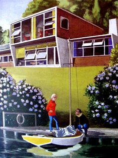 modern living on the river (Ladybird Book of Houses)
