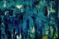 "Saatchi Art Artist lawnspeak mark; Painting, ""alluring  blues"" #art"