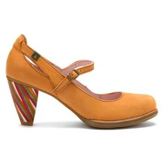 El Naturalista Women's Colibri Multicolor N476 Pumps in Calabaza Crust Antique----I am speechless. Loves these so much!