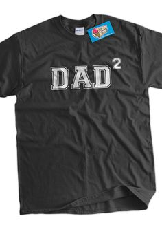 Dad2 shirt ANY NUMBER KIDS Dad 2 To Be Gifts For Dad Gift