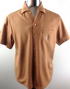 "VINTAGE 1950s ROCKABILLY ARGYLE/DIAMOND TOP LOOP VLV ""SIR GUY""STYLE SHIRT-MEDIUM"