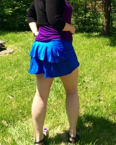 How to add pleats to the Jalie 2796 running skirt