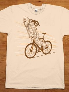 Chewbacca Mountain Bike Tee http://www.sma-summers.com/camp-activites/land-adventure-activities/mountain-biking/