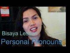 Bisaya Lessons Personal Pronouns final - YouTube Filipino, Philippines, Language, Learning, Youtube, Studying, Languages, Teaching, Youtubers