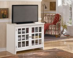 $309.99 Small TV Stand W470 18. Made With Select Birch Veneers And Hardwood  Solids