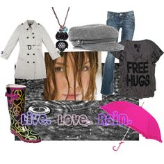 Love The Gift Of Rain, created by lip-gloss-lover on Polyvore