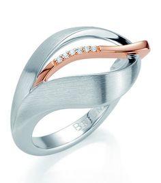 #Breuning Sterling Silver #RoseGold Overlay #Ring $178.50 Avant-Garde Jewelers 512.451.0338 www.avantgardejewelers.com