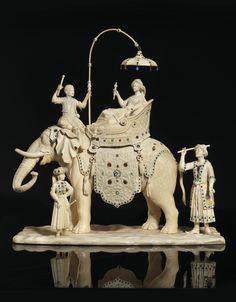 New chinese wood carving century ideas Ivory Elephant, Indian Elephant, Elephant Walk, New Chinese, Chinese Art, Sculpture Art, Sculptures, Le Jade, Elephant Illustration