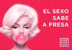 ¡¡Si es con CONFORTEX FRESA seguro!! #QuieroQueMePongas #condonesconfortex #confortex #condones #condoms #preservativos #safesex #desabores #sexoseguro #ideas #frases #humor #masculino #marcas #ideas #publicidad #color #divertido #vegano #diseño #comprarcondones #fiesta #condonesonline #ofertas #seguros #sexo #sex #photo #cartel #decolores #pinterest