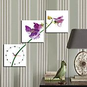 """12""""-24""""Country Style Purple Flower Wall Clock... – EUR € 49.49"""