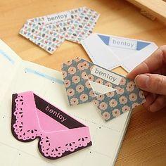 EUR € 1.09 - Tie Collar Forma plástica Marcadores (color al azar), ¡Envío Gratis para Todos los Gadgets!