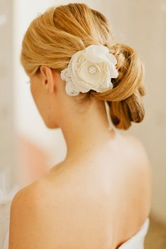 South of France Wedding from Xavier Navarro Party Hairstyles, Bride Hairstyles, Hairdressing Courses, Bridal Hair Inspiration, Style Inspiration, Bridal Updo, Bridal Hair And Makeup, Bridal Hair Accessories, Bridal Looks