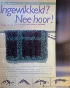 Digitale Bibliotheek: 10aug16 Learn Special Knitting stitches, Aparte Br...