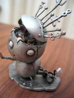 Tim Burton. Tragic Toys. Robot Boy.