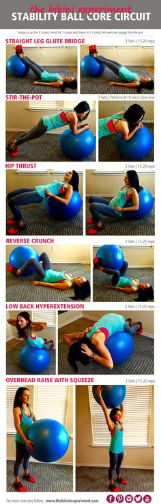 Stability Ball Core Circuit