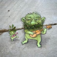 DAVID ZINN David Zinn If you are planning on doing a lot of work on your yard you are going to need David Zinn, Amazing Street Art, 3d Street Art, Street Artists, Graffiti Artists, Land Art, Sidewalk Chalk Art, Chalk Drawings, Arte Popular