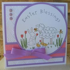 Square Easter by calmag - Cards and Paper Crafts at Splitcoaststampers